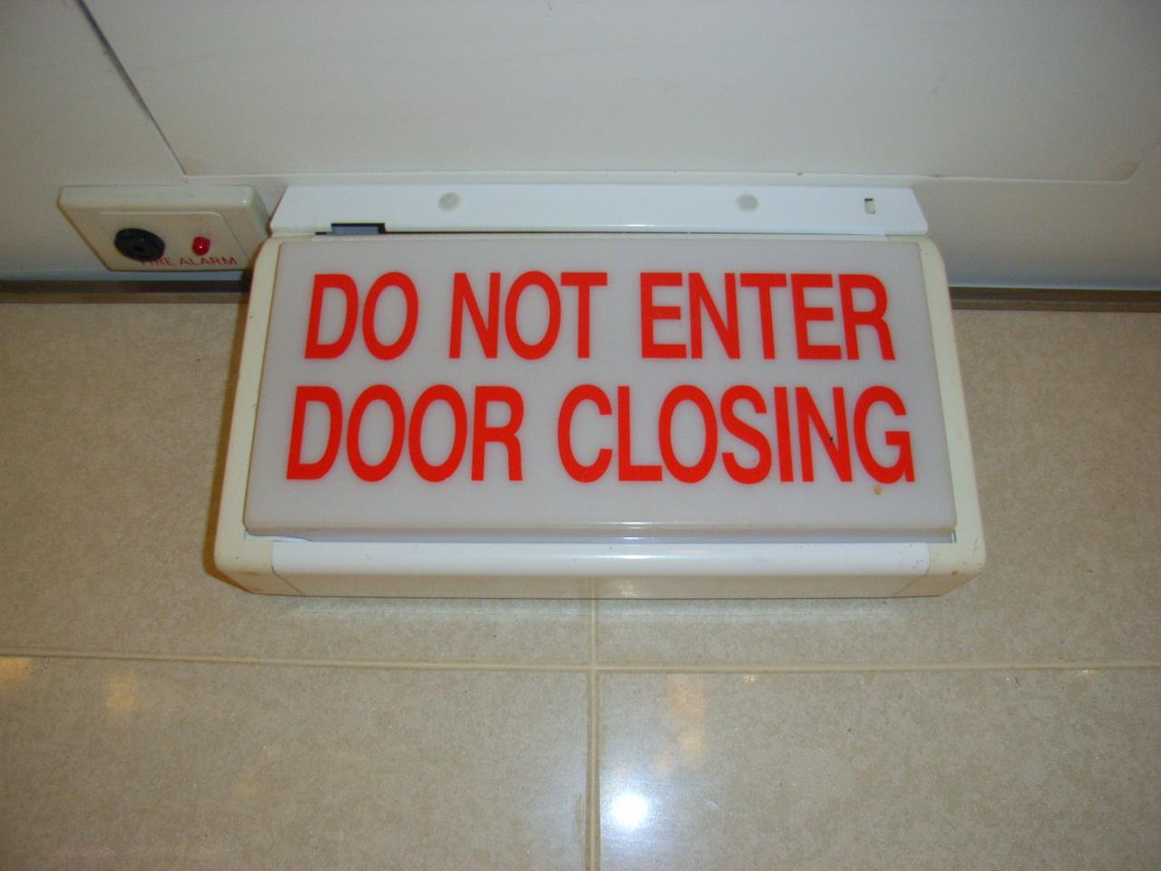 Open The Door Wider…Please